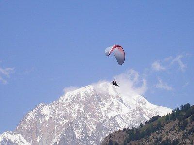 Parapendio Valle d' Aosta