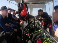 Subacquei in barca