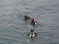 Tre subacquei