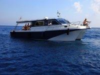 L'imbarcazione del Chioma Charter
