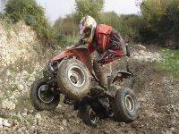 Guida in quad
