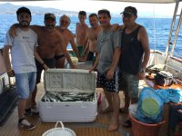 Pescatori in posa