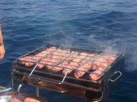 Barbecue di bordo