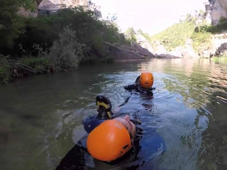 In acqua!