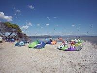Kitesurfers spot
