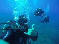Selfie subacqua