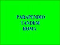 Parapendio Tandem Roma