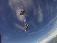 L'apertura del paracadute