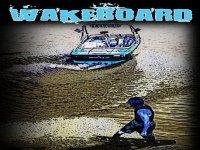 Wakeboard sul Lago dei Gabbiani