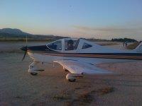 Ultralight flight in Sicily