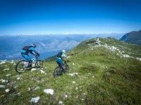 Mountain bike sul Monte Baldo