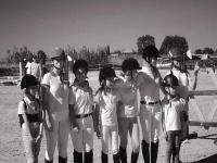 i nostri bambini imparano ad amare l'equitazione