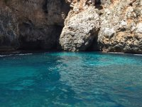 The clear waters of Puglia