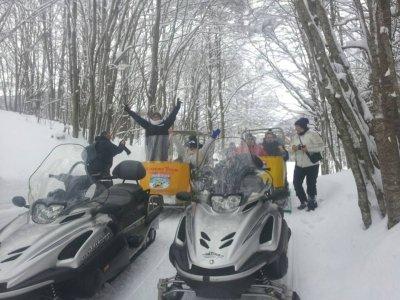 Campitello Extreme Team Motoslitta