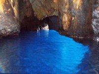 giochi di blu nelle grotte
