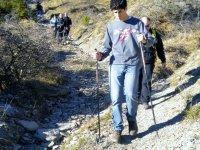 Camminata con bastoni