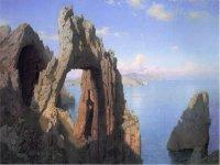 natural arch of Capri