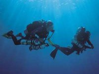 In due sott acqua