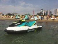 Un de nos véhicules sur la plage