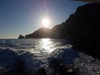 Ecco Capri col sole in faccia