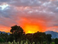 Sunset at Domus de Maria
