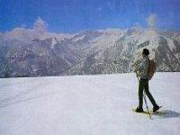 Avvolto dal silenzio delle Alpi