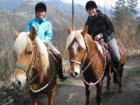 A cavallo in Toscana