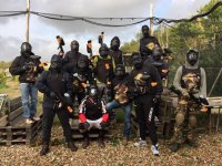 La squadra di paintball