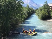 Alle prese col rafting