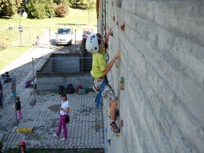 Gioco-arrampicata per bambini 4-6 anni