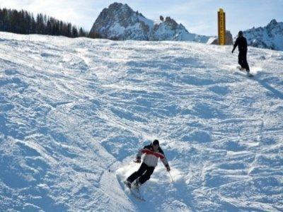 Bardonecchia Ski Piste Sci
