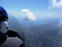 Vista in volo