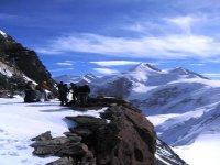 The panorama of Val d'Ayas