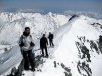 Sulla cresta del monte