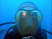 Primo piano sott'acqua