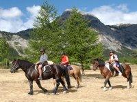 Horse ride Bardonecchia