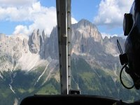 Visita dall'alto le Dolomiti