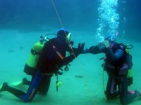Trying through the seabed