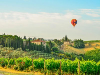 Balloon in Tuscany