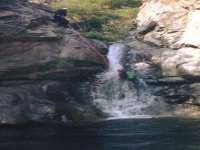 Descents with rope