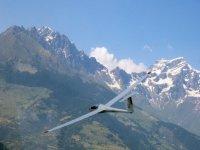 Aeroplano dove faciamo il lancio