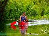 Avventura in canoa