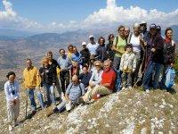 Gruppo di nordic walking