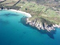 The coasts of Sardinia