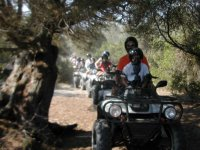 In quad in Sardinia