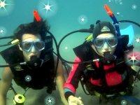 Underwater in Cefalu