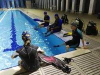 Preparazione all 'immersione