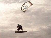 Salto con il kite