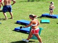 Fitness nel verde