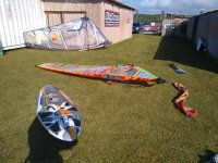 Vele di wind surf